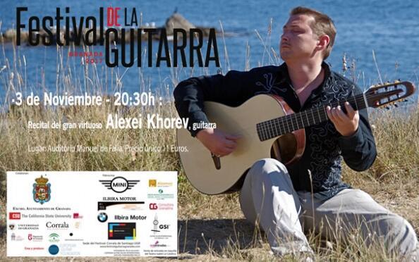 Entradas Alexei Khorev - Festival de la Guitarra