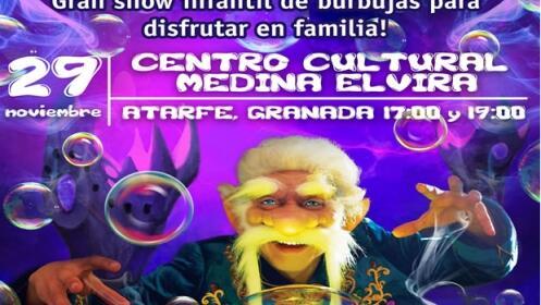 Entradas para espectáculo infantil Magia de Burbujas, 29 de noviembre