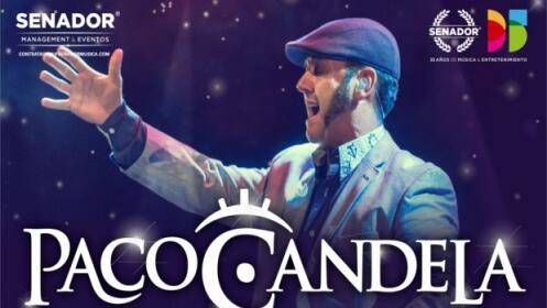 Entradas Paco Candela, 25 mayo en Palacio de Congresos
