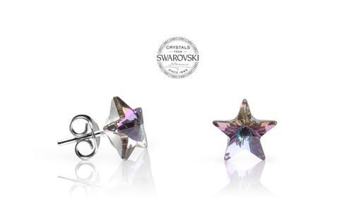 Pendientes Estrella de Swarovski Crystals