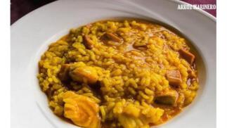 Menú de arroz para 2 con entrante + bebidas + postres