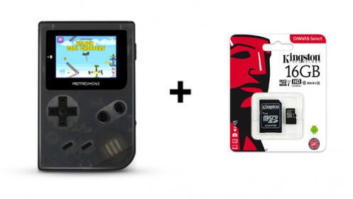 ¡Mini consola retro + tarjeta Kingston 16G de regalo!