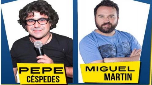 Monólogos Andalucía Comedy con Pepe Céspedes y Miguel Martín  20 octubre en Bailén