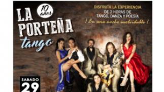 Silver Ticket: entrada La Porteña Tango + CD + Meet & Greet