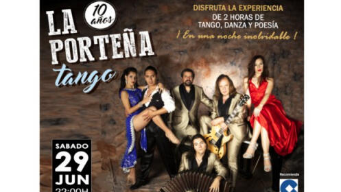 Silver Ticket: entrada La Porteña Tango + CD + Meet & Greet