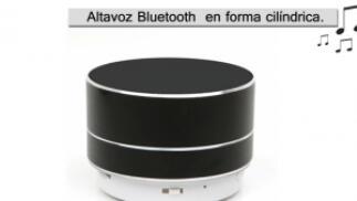 Altavoz Bluetooth AL01 en forma de cilindro