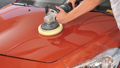 Encerado de coche completo + lavado + pintura + pulido de faros