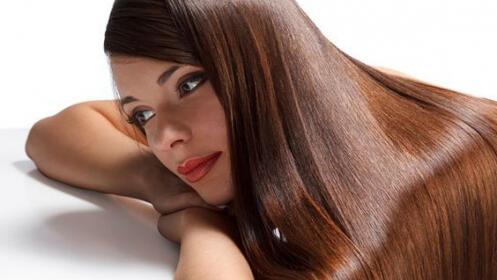 Sesión peluquería con corte + baño queratina + peinado