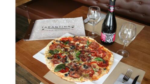 Menú italiano gourmet: entrante + 2 principales + postres + bebidas