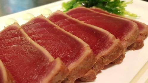 Menú para 2 con tataki de atún