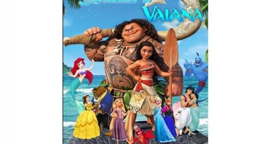 Jaén: entradas musical Vaiana, 2 junio