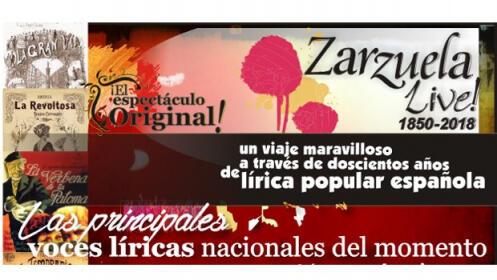Entradas Zarzuela Live!, 29 septiembre
